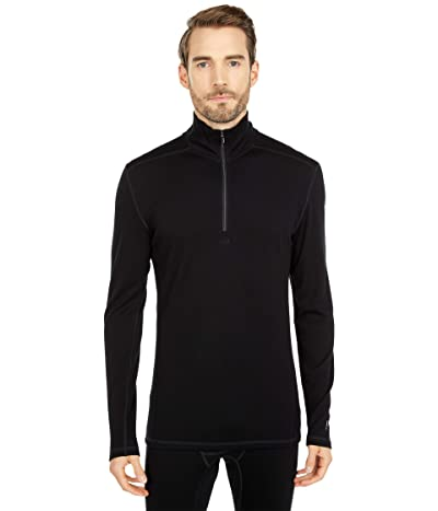 Smartwool Merino 250 Base Layer 1/4 Zip (Black) Men
