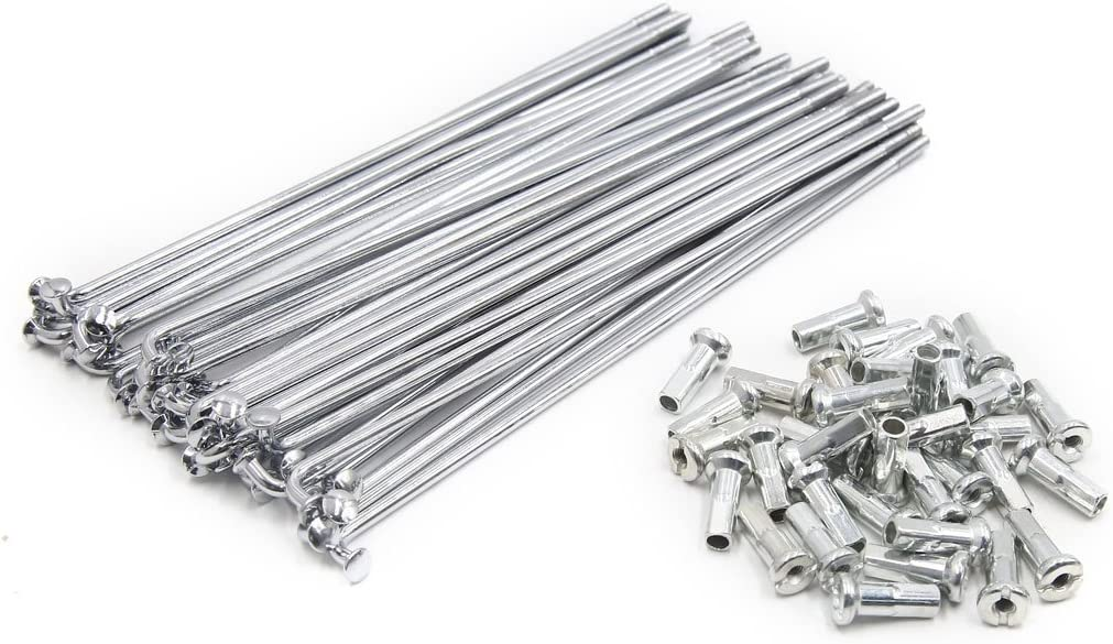 uxcell 36pcs Mail order 3.5mm Thread Diameter Austin Mall Wheel Length Motorcycle 170mm