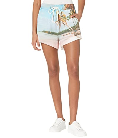 Blank NYC French Terry Shorts with Elastic Waistband