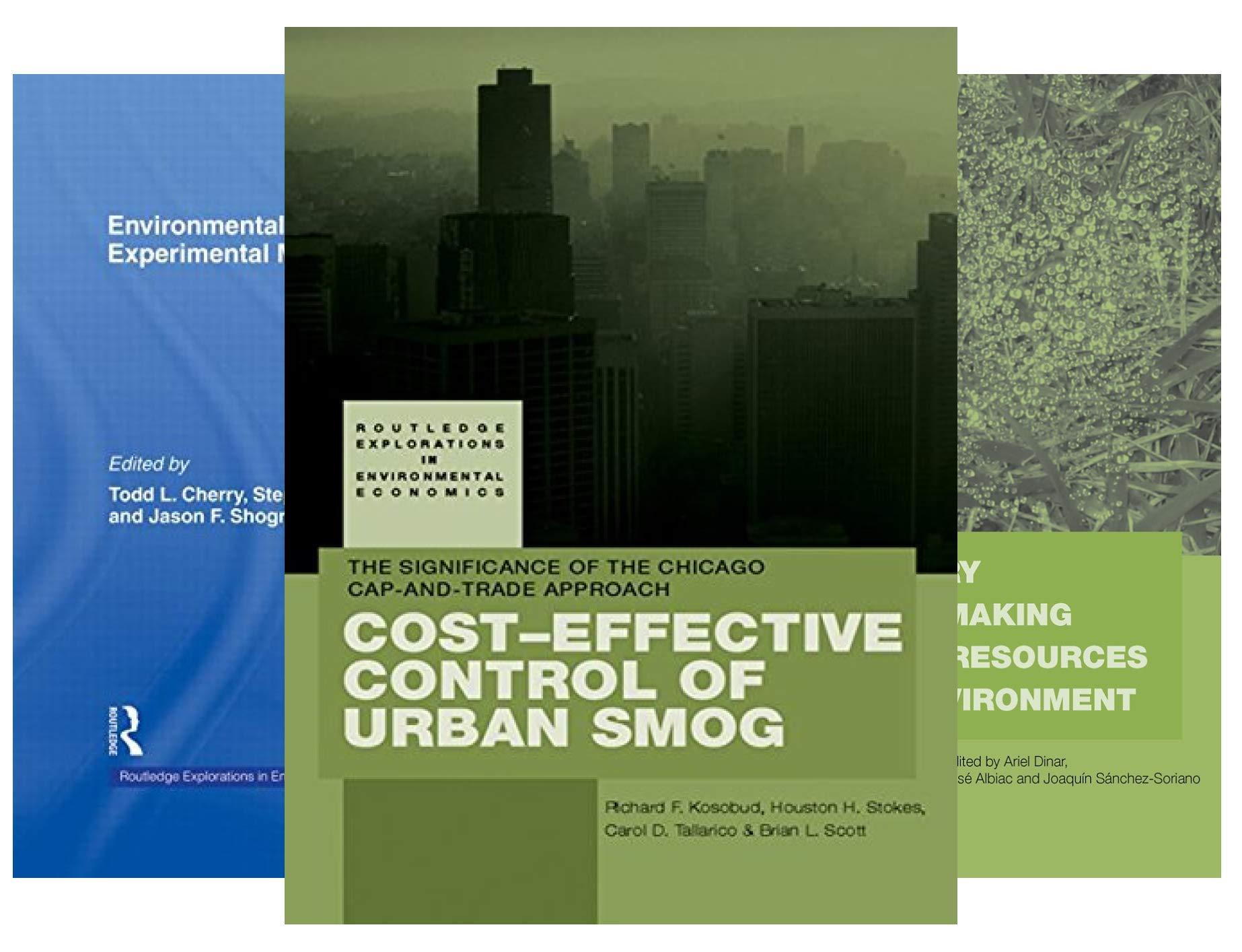 Routledge Explorations in Environmental Economics (21 Book Series)