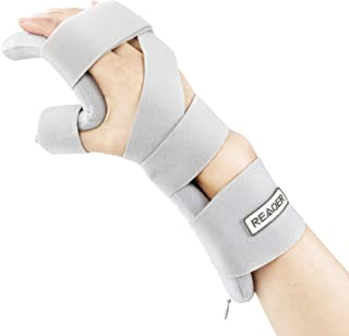 Best REAQER Stroke Resting Hand Splint Night Immobilizer Muscle Atrophy Rehabilitation In The Hands, Wrists And Fingers (Right) Review