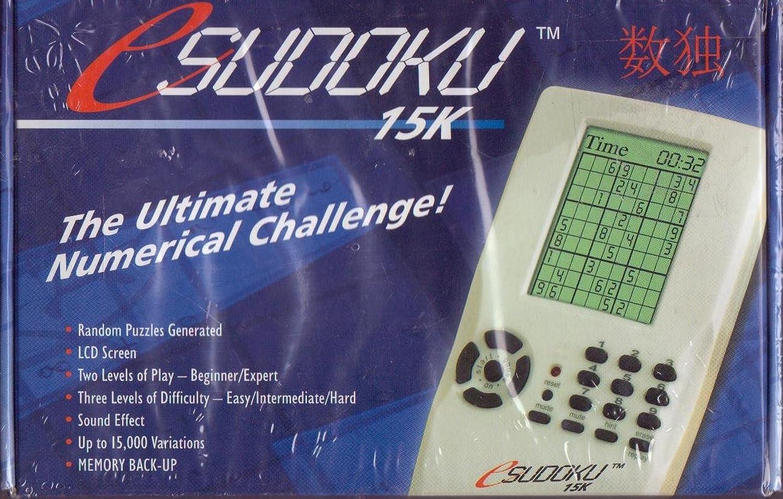 Sudoku 15K The Ultimate Numerical Challenge  Esudoku