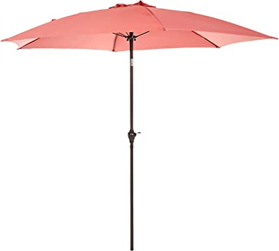 AmazonBasics JC010, Red Patio Umbrella-9-Foot