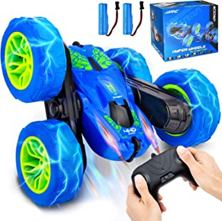 SIMILKY Remote Control Rc Car 4WD RC Stunt Car Rotate 360 Double Sided Race RC Car Maketheone Electric Stunt Rock Crawler ...