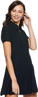 Calvin Klein Women's 2724671601-Black A-Line