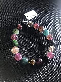 "7.5 inch strand natural multi tourmaline 11 mm round smooth beads for jewelry - 11mm multi tourmaline smooth round beads. aaaa quality bracelet natural multi tourmaline length 7.5"""