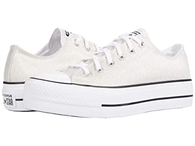 Converse Chuck Taylor(r) All Star Canvas Lift (Gold/Black/White 2) Women