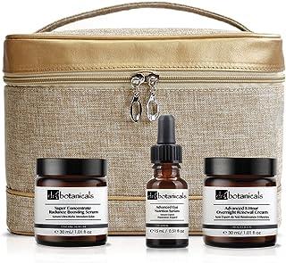Dr Botanicals Advanced Bag Set Revitaboost Eye Therapy, 8-Hour Overnight Renewal Cream, Eye Nutrition Serum, 400 Gram