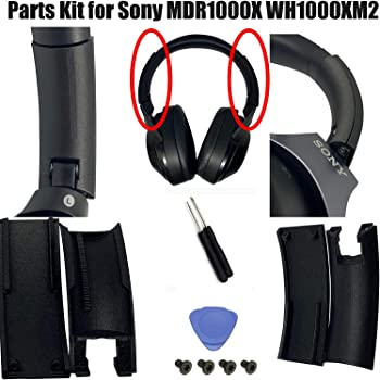 Replacement Cover Part Side Slider Headband Parts Kit Compatible with Sony Wireless Noise Cancelling Headphones MDR1000X WH1000XM2