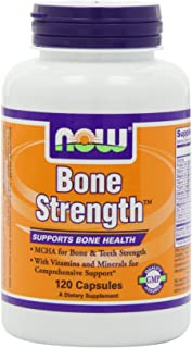 NOW Bone Strength, 120 Capsules (Pack of 2)
