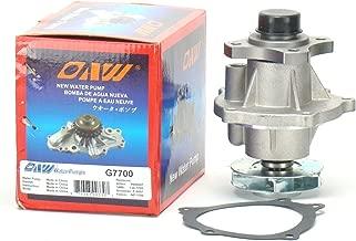 OAW G7700 Engine Water Pump for Buick Chevrolet GMC Hummer Isuzu Oldsmobile Saab 2.8L / 2.9L (L4), 3.5L / 3.7L (L5), 4.2L (L6) Engine 2002-2012