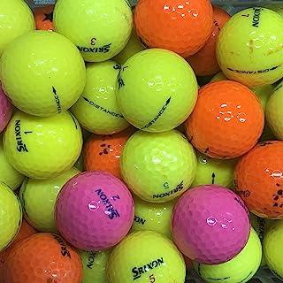 Bランク スリクソン(SRIXON)各種混合 カラーボール 50球 ロストボール 【ECOボール】