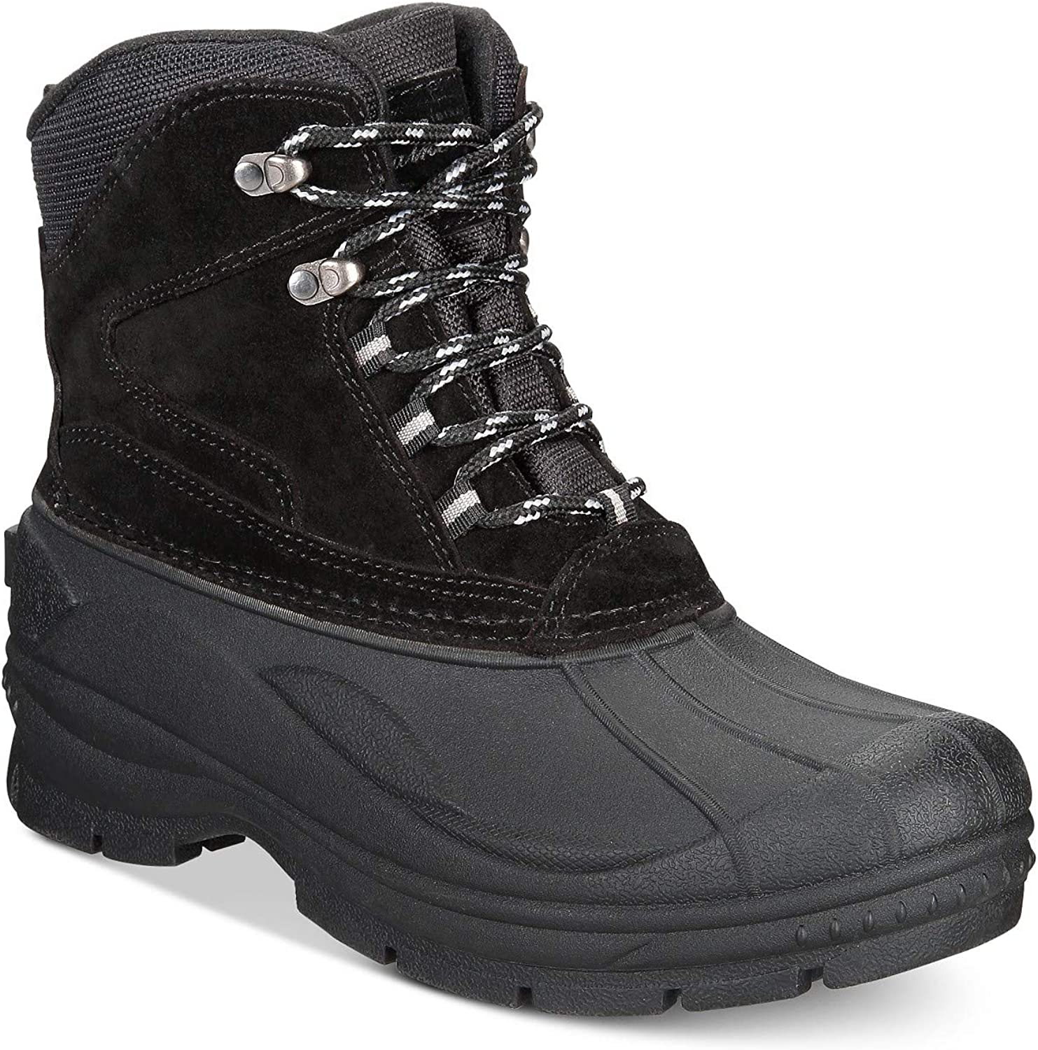 Weatherproof Mens Jake Leather Cap Toe Mid-Calf Cold Weather Boots