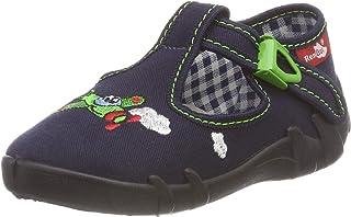 con Cierre de Velcro Zapatillas de Piel para ni/ña RenBut