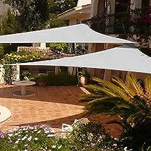 Shade&Beyond 2 Pcs 12'x12'x12' Sun Shade Sail Triangle UV Block for Yard Patio Backyard (Grey)