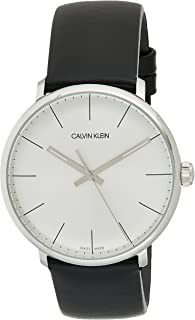 Calvin Klein High Noon K8M211C6 Leather Analog Casual Watch for Men