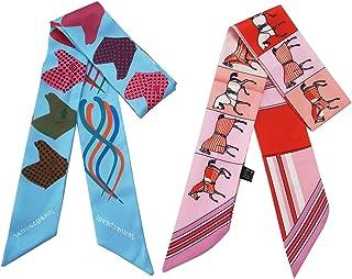 Bag Scarf for Handbag Handle Wrap Women Fashion Ribbon Accessories Gift