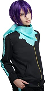 Unisex Yato Cosplay Costume Anime Athletic Casual Sports Suit Black
