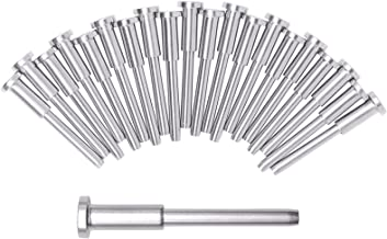 """105 pack T316 Invisible Receiver Swage Stud End Fitting 3//16/"""" Cable Railing Set"""