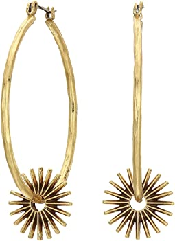 Spur Hoops Earrings