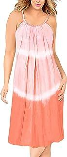 Playa de la Libertad de rayón Tie-Dye de la Mujer Encubrir td119