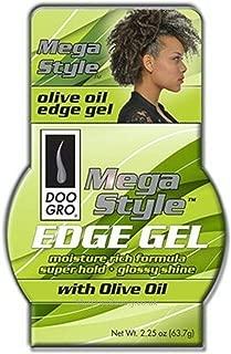 Doo Gro Mega Style Edge Gel With Olive Oil, 2.25 Oz