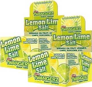 Twang Lemon-Lime Flavored Salt, Twangerz 2 Pack, Flavor Blends, 1 Gram Packets, 400 count