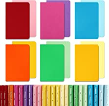"""EOOUT 24pcs Pocket Notebook Set, Small Notebooks Colorful Notebook, Travel Journals Lined Notepad, Mini Memo Notepad, 3.5""""..."""