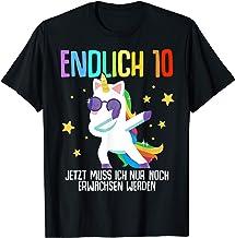 10. Geburtstag 10 Jahre Junge Mädchen 10-jährig Geschenk T-Shirt