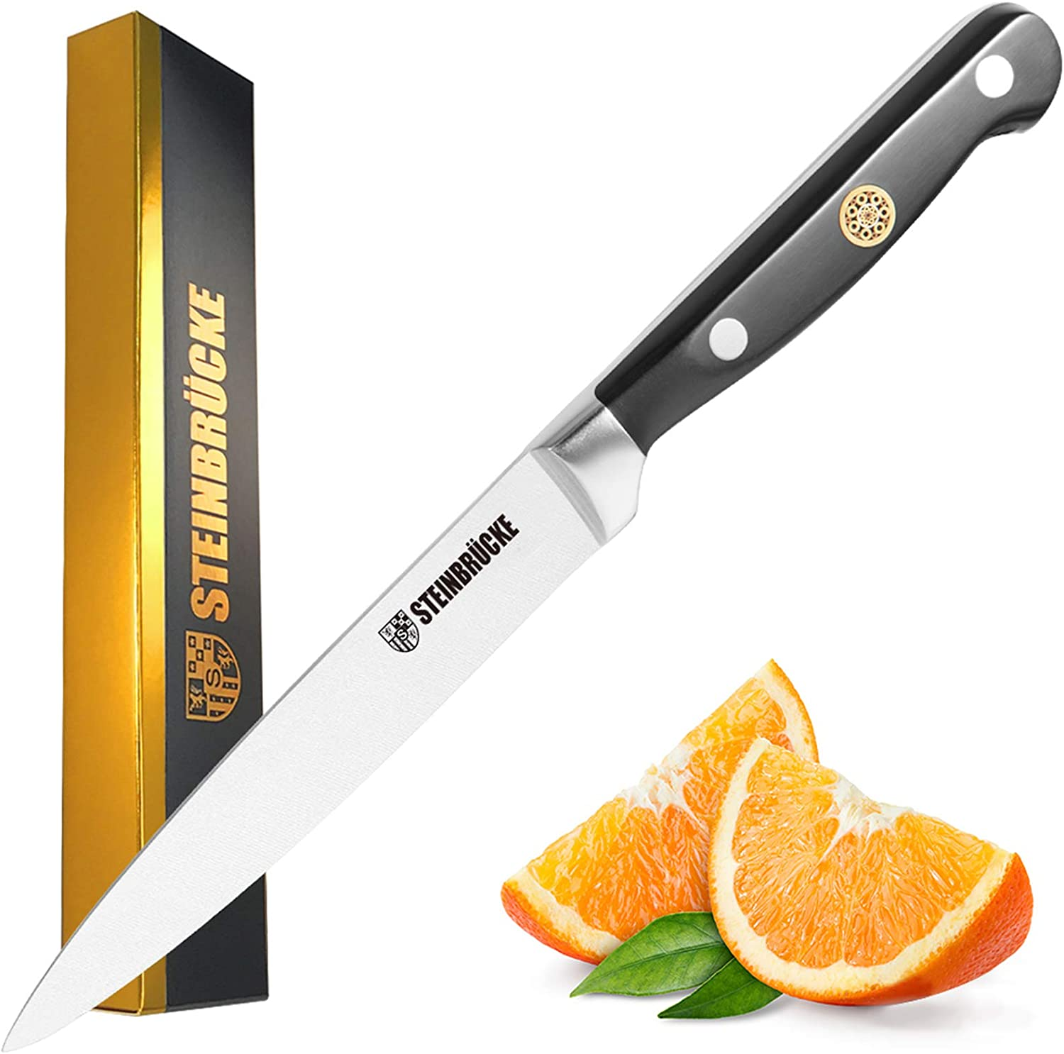 STEINBRÜCKE Utility Knife 5 Kitchen - sold out inch Baltimore Mall Forg