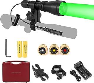 LUMENSHOOTER LS350 Predator Light Kit, Red Green White...
