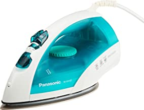 Panasonic NI-E410TMSH Steam Iron, 1.1kg, 2150W, White/Blue