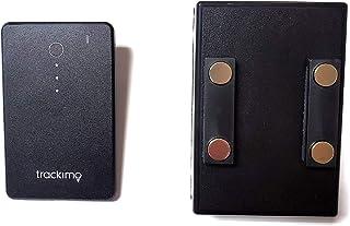 [セット品] 2点セット Trackimo(トラッキモ) スリム型GPSトラッカー [TRKM-015] リアルタイム追跡GPS発信機 + マグネット付きケース