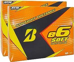 Bridgestone e6 Soft Yellow Golf Balls, 2 Dozen