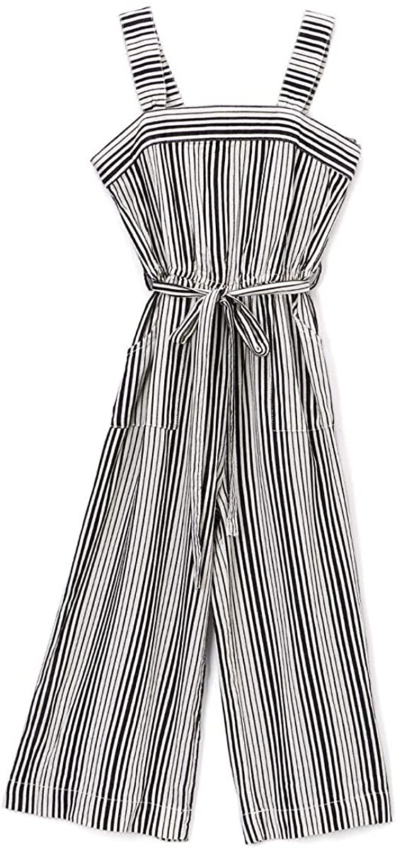 bebe Girls 100/% Cotton Youth Jumpsuits