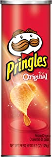 Pringles The Original Potato Crisps - Game Day Party Food, Perfectly Seasoned Salty Snack (5.2 oz Can)