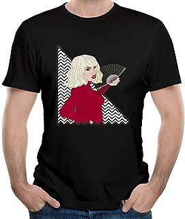 Men's Katya Zamolodchikova Red T Shirts Black