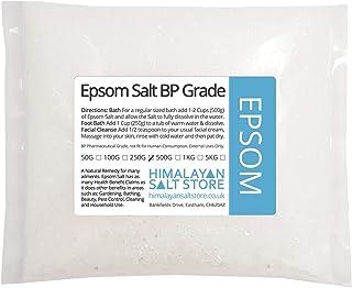 Epsom Salt | 100g,250g,1kg,2kg,5kg,10kg,25kg Bags | Bath