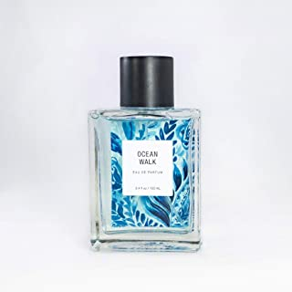 Ocean Walk Eau De Parfum by Tru Fragrance and Beauty - Airy and Beachy Fruity Floral Perfume for Women - Pink Grapefruit, Peony, Violet, Sandalwood, Cedarwood and Salted Musk - 3.4 oz