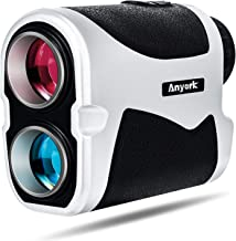 Anyork Golf Rangefinder Laser Range Finder با شیب خاموش Pinsensor Flag-Lock Tech 1500 فاصله فاصله از مسافت PGA Golf Masterfinder Golf Rangefinder
