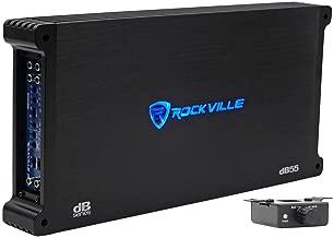 Rockville dB55 4000 Watt/2000w RMS 5 Channel Amplifier Car Stereo Amp, Loud