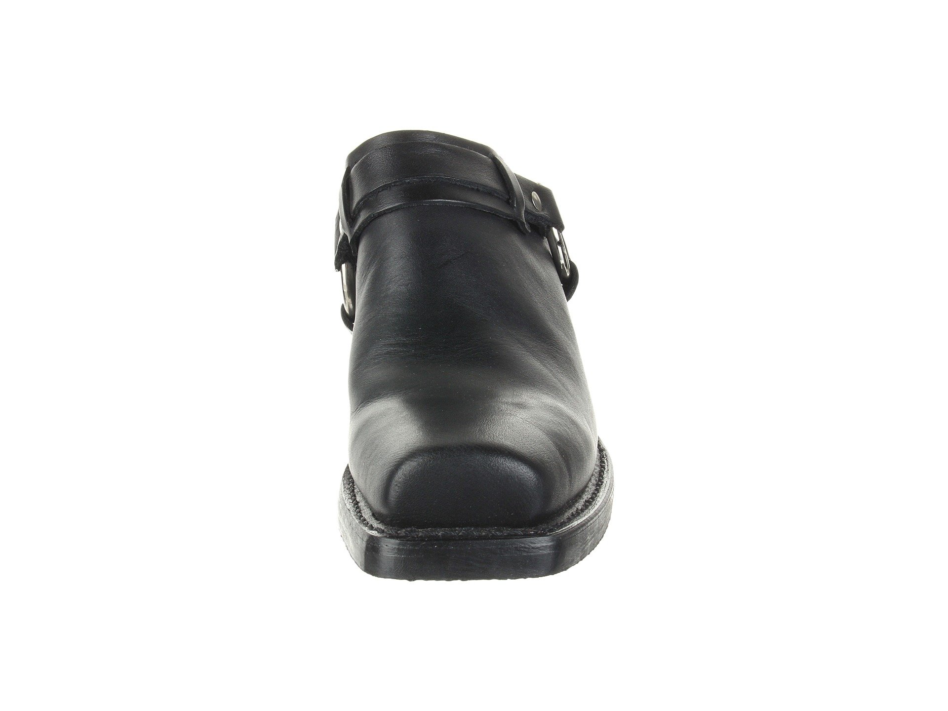 Black Mule Belted Greasy Harness Leather Frye F0OzPqwv