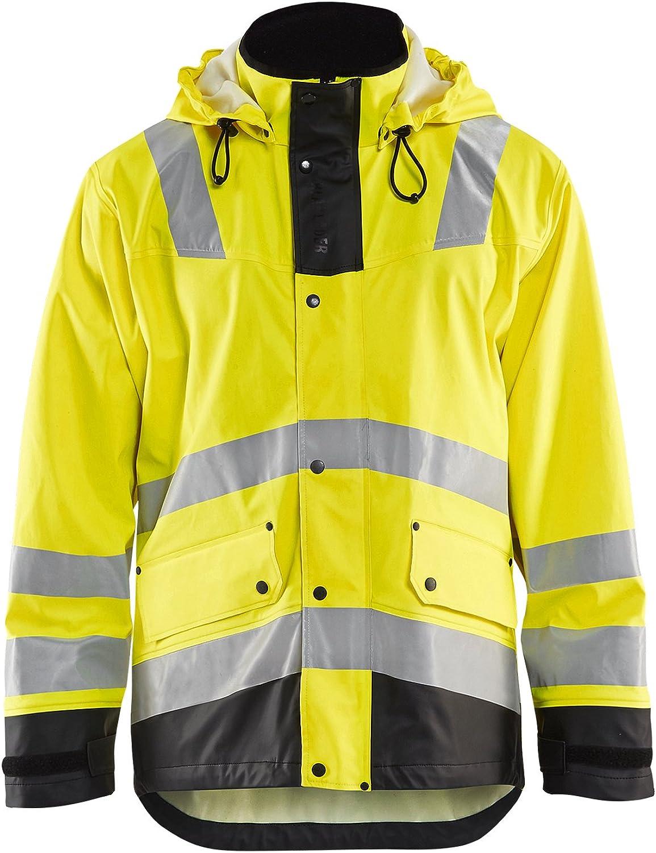 Workwear Bundle: Blaklader Hi-Vis Rain Jacket & Hammer Hook