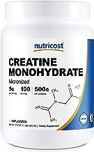 Nutricost Creatine Monohydrate Micronized Powder 500G, 5000mg Per Serv – Pure..