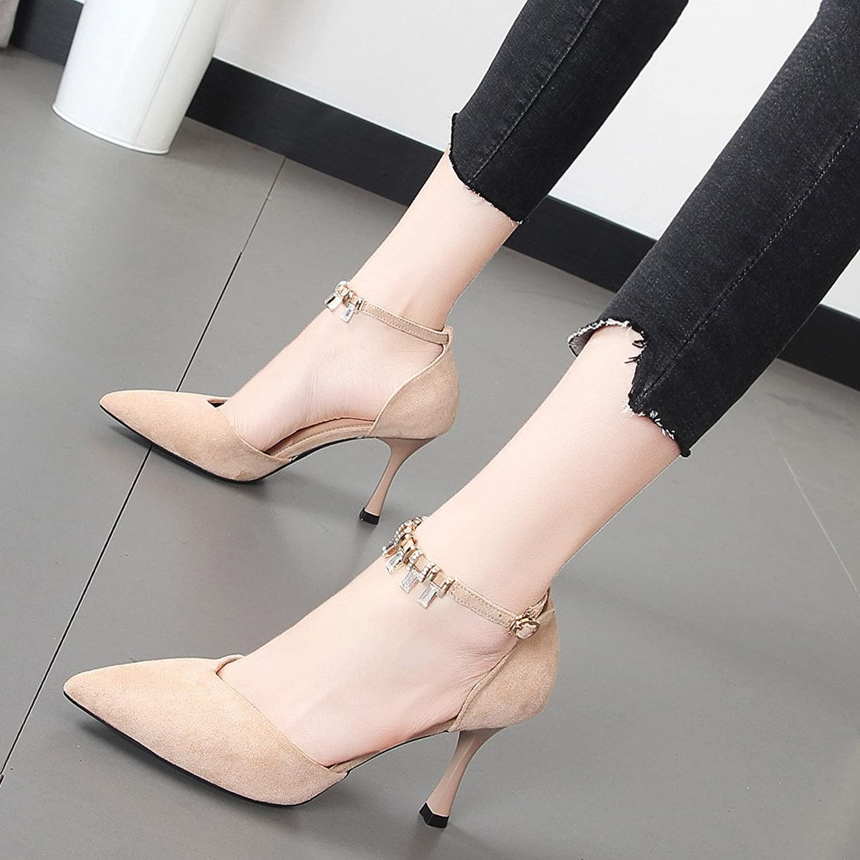 Xue Qiqi Fein mit Damenschuhe satin Tipp Licht - für High-torque-heeled Schuh