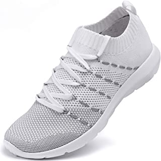 Women's Running Shoes Lightweight Comfortable Mesh Sports Shoes Casual Walking Athletic Sneakers