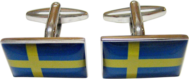 Swedan Flag Cufflinks