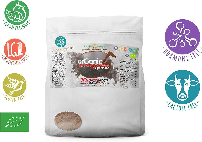 Energy Feelings | Proteína Vegana Ecológica Sabor Chocolate ...