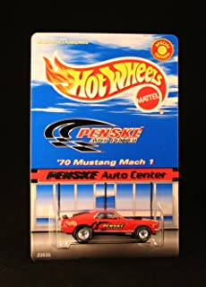 '70 MUSTANG MACH 1 * PENSKE AUTO CENTERS * Exclusive 1999 Hot Wheels Special Edition 1:64 Scale Die-Cast Vehicle