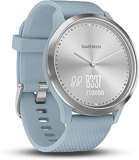 comprar comparacion Garmin vívomove HR - Elegante reloj inteligente híbrido con monitor de actividad, azul claro
